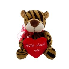 Timmy Tiger with Heart (25cmST)