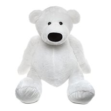 Fred Bear White (100cmHT)