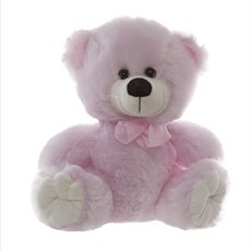 Alvin Relay Teddy Bear Light Pink (25cmST)
