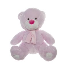 Buddy Teddy Bear with Scarf Pink (42cmST)