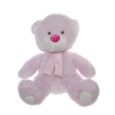 Buddy Teddy Bear with Scarf Pink (52cmST)