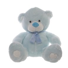 Buddy Teddy Bear with Scarf Blue (60cmST)
