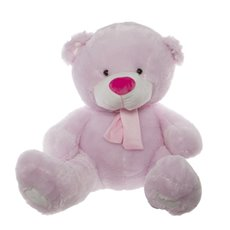 Buddy Teddy Bear with Scarf Pink (60cmST)