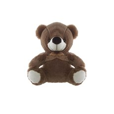 Andy Teddy Bear Dark Brown (21cmST)