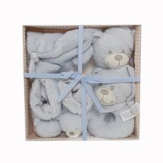 Alexandra Teddy Bear Gift Set 4PC Blue
