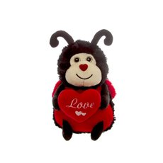 Tilly Ladybug with Heart Love Red (18cmST)