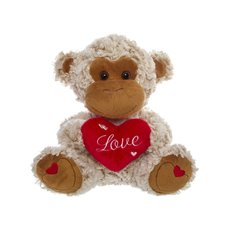 Mike Monkey with Heart Love (23cmST)