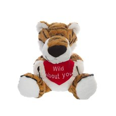 Timmy Tiger with Heart Wild about you (29cmST)