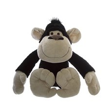 Jungle Animal Soft Toys - Stevie G Gorilla Black (30cmST)