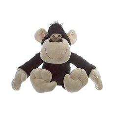 Jungle Animal Soft Toys - Stevie G Gorilla Black (23cmST)