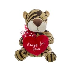 Tim Tiger with Heart (25cmST)
