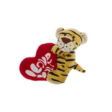 Tiny Tiger with Love Heart (15cmST)