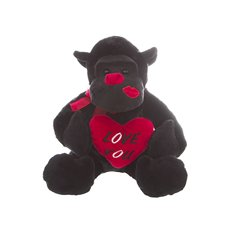 Kissabelle Gorilla  Love you  Black (25cmST)