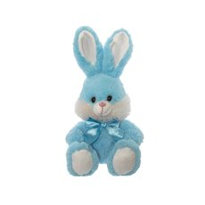 Baby Teddy Bears - Huggy Bunny Rabbit Blue (25cmST)