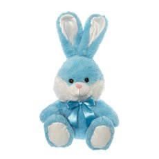 Huggy Bunny Rabbit Blue (35cmST)
