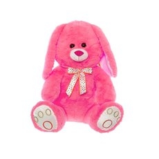 Farm Animal Soft Toys - Peter Bunny Rabbit Peach (42cmST)