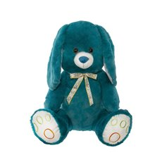 Farm Animal Soft Toys - Peter Bunny Rabbit Teal (60cmST)
