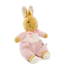 Bunny Soft Toys - Edwina Bunny Rabbit Brown (25cmST)