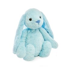 Farm Animal Soft Toys - Sasha Bunny Baby Blue (32cmST)