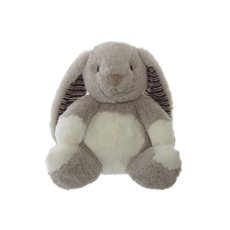 Easter Soft Toys - Rosie Bunny Grey (19cmST)