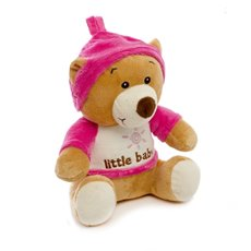Baby Teddy Bears - Snookums Teddy Bear Pink (22cmST)
