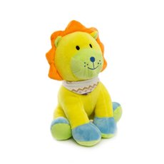 Baby Animal Soft Toys - Bright Leo Lion Yellow (22cmST)