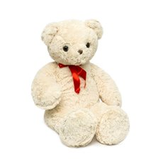 Giant Teddy Bears - Ralph Bear with Bow Tie Cream (100cmHT)