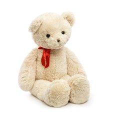 Giant Teddy Bears - Ralph Bear with Bow Tie Cream (120cmHT)