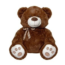 Teddytime Teddy Bears - Rico Bear with Bow Tie Brown (45cmST)
