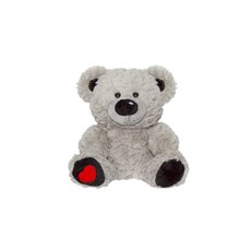 Valentines Teddy Bears - Nadia Bear Grey (24cmST)