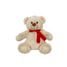 Valentines Teddy Bears - Carter Bear with Scarf Beige (15cmST)