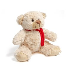 Teddytime Teddy Bears - Carter Bear with Scarf Beige (21cmST)