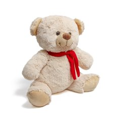 Teddytime Teddy Bears - Carter Bear with Scarf Beige (36cmST)