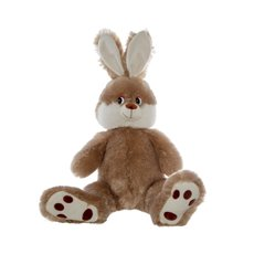 Farm Animal Soft Toys - Asher Bunny Brown (40cmST)