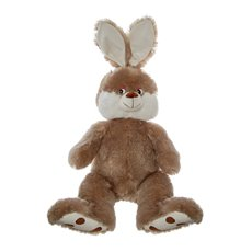 Farm Animal Soft Toys - Asher Bunny Brown (50cmST)