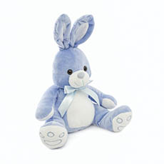 Easter Soft Toys - Luke Bunny Blue (25cmST)