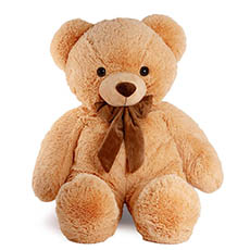 Giant Teddy Bears - Liam Bear Brown (73cmST)
