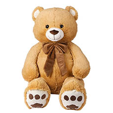 Giant Teddy Bears - Benjamin Bear Brown (85cmST)