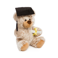 Graduation Teddy Bears - Graduation Teddy Bear Oscar Beige (26cmST)