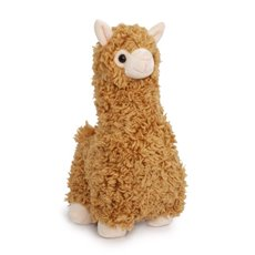 Farm Animal Soft Toys - Llama Plush Brown (27cmHT)