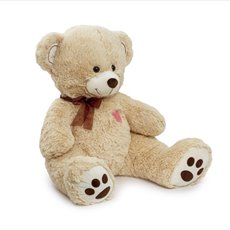 Valentines Teddy Bears - Jimmy Bear Beige (63cmST)
