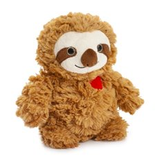 Valentines Teddy Bears - Rocky plush Sloth (18cmHT)
