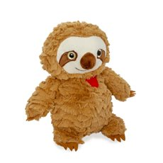 Valentines Teddy Bears - Rocky plush Sloth brown (24cmHT)