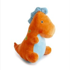 Baby Animal Soft Toys - Koo Dinosaur Orange  (30cmST)