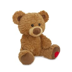 Valentines Teddy Bears - Loving heart bear brown (32cmST)