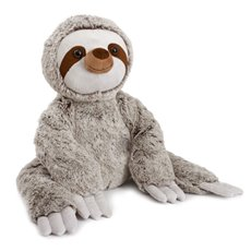 Valentines Teddy Bears - Hiker plush Sloth with long arm grey (35cmHT)