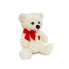 Valentines Teddy Bears - Emily Bear with Red Heart Cream (20cmST)