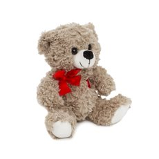 Valentines Teddy Bears - Emily Bear with Red Heart Grey (20cmST)