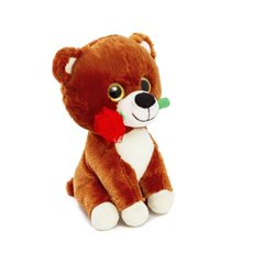 Valentines Teddy Bears - Dula Bear with Brown  (25cmST)