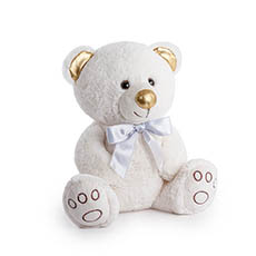 Valentines Teddy Bears - Princess Bear White (24cmST)